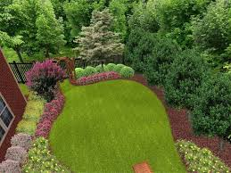 office landscaping ideas. Landscape Ideas For Sloped Backyard Privacy Landscaping Office