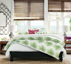 palm frond bedding summer style tropical decor driven decor