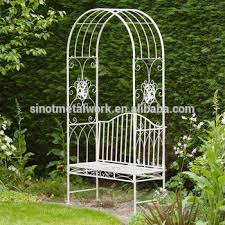 Small Picture Wrought Iron Rose Arch Metal Garden Flower Arch Design Metal
