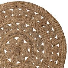 round jute seagrass rugs for charming floor decoration ideas