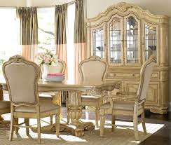 ivory dining chairs ivory white dining room set with leather dining rh zelin co elegant round dining room set ivory kitchen table