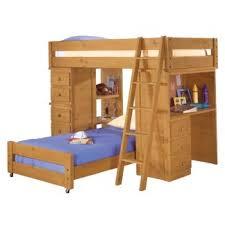 crossroads student twin loft bed