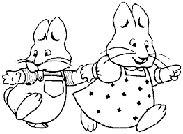 Small Picture Coloring page Max and Ruby 7 Harleys 4th b day party