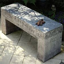 cement garden bench.  Cement 23 Diy Concrete Projects Use To Amazing Extents Inside Cement Garden Bench B