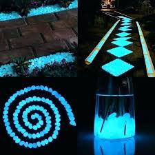 glow stone driveway glow stone glow in the dark garden pebbles glowing stones for walkway yard glow stone