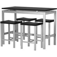 Counter Height Bistro Table Set Bar Table Set Wade Daryl 5 Piece Counter Height Pub Table Set