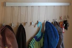 Coat Rack Systems Simple Click Rail Makes Great Coat RackHang With The Best Blog AS