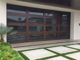 Contemporary Modern Garage Doors Cost Moderngarageandshed Pinterest In Perfect Design