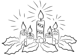 Small Picture Advent Candles coloring page Free Printable Coloring Pages