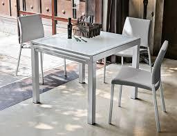 target point contemporary vega square extending dining table thumbnail