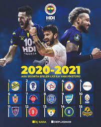 Axa Sigorta Efeler Ligi ve Sultanlar Ligi'nin fikstürleri belli oldu -  Fenerbahçe Spor Kulübü