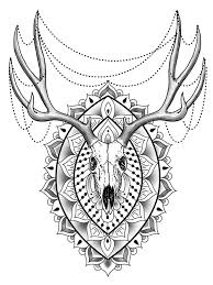Small Picture Animal mandala coloring pages for adult Free Printable Animal