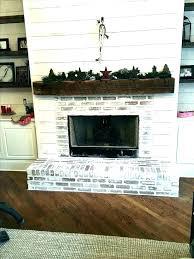 updated fireplace ideas s updated brick fireplace ideas