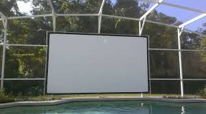 diy outdoor projector screen elegant purchased the 9 21 bungee and grommet screen with the