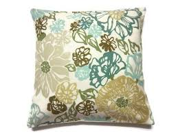 Amazing Green Pillows Decor With Decorative Pillow Cover Teal Mint Green  Olive Green Brown Same Fabric