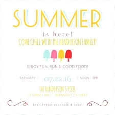 Free Picnic Invitation Template Awesome Free Summer Party Free ...