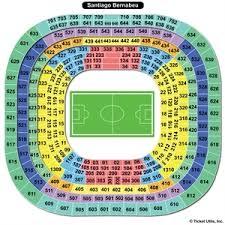 22 Studious Estadio Santiago Bernabeu Seating Chart