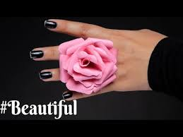 Rose Paper Flower Making Paper Flower How To Make Paper Rose Paper Craft Easy