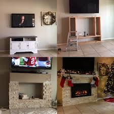 electric fireplace ideas fresh diy electric fireplace project electric fireplaces