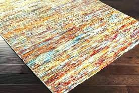 burnt orange and teal area rug rugs s brown