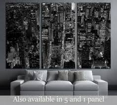 black and white scene of new york city skyline cityscape background 3047 ready to hang on new york city skyline wall art with new york cityscapes skylines wall art at zellart canvas arts