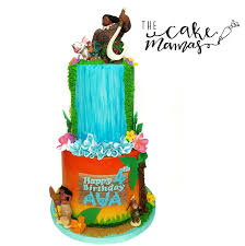 Cake Decorating Books Awesome Moana Birthday Call Or Email To Book