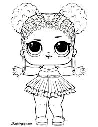 Lol Dolls Coloring Pages Beautiful Purple Queen Lol Big Surprise