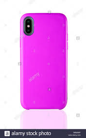 Design Case Hp Crimson Phone Leather Case On White Isolated Background