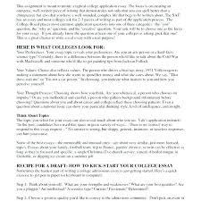 essay topics for college applications examples of college essay bitacorita