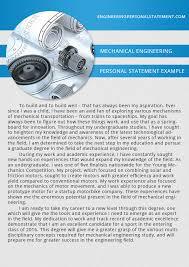 engineering personal statement examples   engineering personal    engineering personal statement examples  mechanical engineering