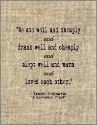 Hemingway Quotes On Love Impressive Literary Love Quote Ernest Hemingway By JenniferDareDesigns 4848