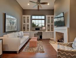 Farmhouse Home Office. Farmhouse Home Office with built in desk and  cabinets. Farmhouse Home
