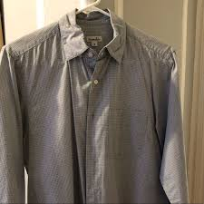 steven alan men s reverse seam on down shirt m 5c44be99c9509649738140