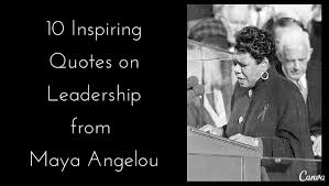 Famous Leadership Quotes Magnificent 48 Inspiring Quotes On Leadership From Maya Angelou Alltop Viral