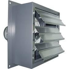mount kitchen ventilation fan canarm wall exhaust fan in   hp model s f enclosed exhaust fans northe