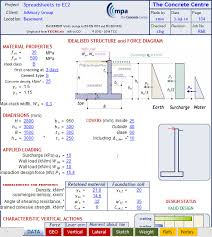 basement wall design. Excel Sheet To Design Basement Wall Basement Wall Design T
