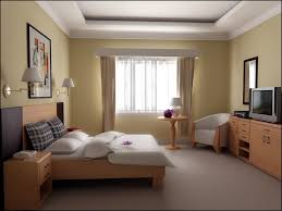 bedroom decorating ideas color schemes light with yellow teak wood furniture