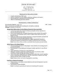Resume Draft Template Tax Preparer Resume Cover Letter 13