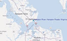 Hampton River Tide Chart Hampton River Hampton Roads Virginia Tide Station Location