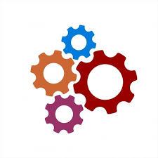 Engranaje Colorido Ilustración Icono Y Logotipo, Clipart De Proceso, Iconos  De Engranajes, Logo Icons PNG y Vector para Descargar Gratis | Pngtree