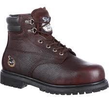 Mens Georgia Boots Oiler Steel Toe Waterproof Work Boots