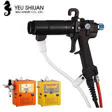 hima tc 92 water based coating electrostatic spray manual static spraying oily