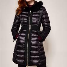 amandea quilted zip coat