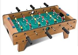 Miniature Wooden Foosball Table Game Mini football table price review and buy in Dubai Abu Dhabi and 9