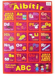 Wall Chart Gaeilge Alphabet