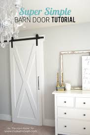 How To how to make a barn door images : Wonderful Looking How To Make A Barn Door Simple Ideas Best 25 Diy ...