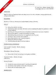 Resume For Nurses Sample Nurse Resume Writers Perfect Nursing Resume ...