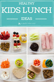 healthy lunch recipes for kids. Healthy Kids Lunch Ideas To Recipes For