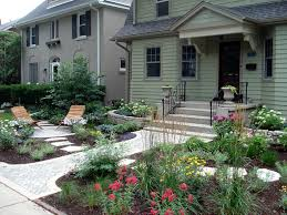 Cottage Garden with Curb Appeal traditional-landscape