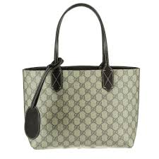 gucci bags india. gucci gucci bag 372613 a9810 9643 small reversible gg leather tote bags india